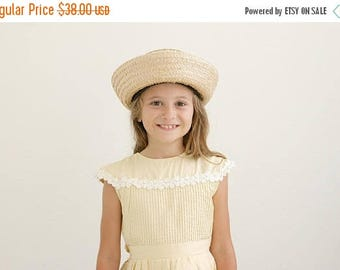 ANNIVERSARY SALE 1960s Youngland Pleat Dress /// Size 5t to 6