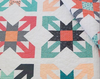 She Quilts A Lot Pointed View Quilt Pattern