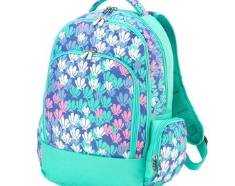Mer-Mazing Backpack-Mermaid Book bag-includes Monogram-School Bag-Diaper Bag