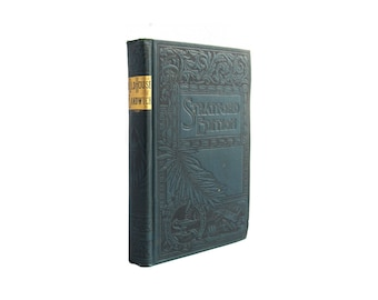 The Old House at Sandwich: The Story of a Ruined Home - antiquarian novel in decorative binding - Free US Shipping