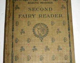 Antique (1907) School Book - Second Fairy Reader