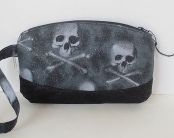 New Glitter Skull Wristlet Clematis Sale