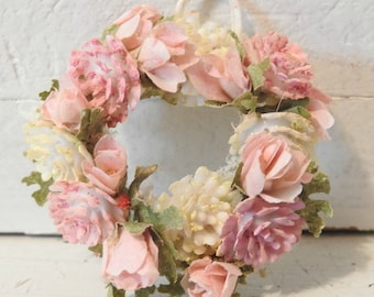Pink Doll House Wreath