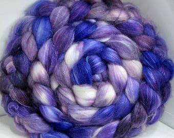 Sale Optim, Camel, Bombyx Silk 40/40/20 Roving Combed Top - 5oz - Lavender Fields 1