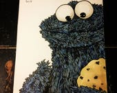 Cookie Monster-Daily Sketch 05312017