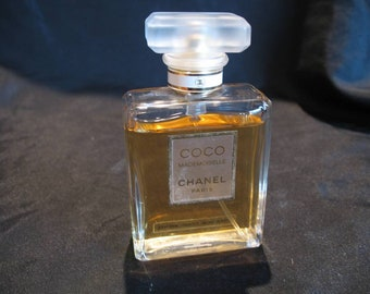 Vintage Coco Mademoiselle Perfume By Chanel 1.7 Oz. spray