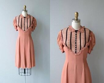 Sistowbell Lane dress | vintage 1930s dress | rayon 30s dress