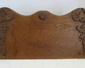 Antique Table Top Oak Gingerbread Book Stand/IPad Stand/Recipe Stand