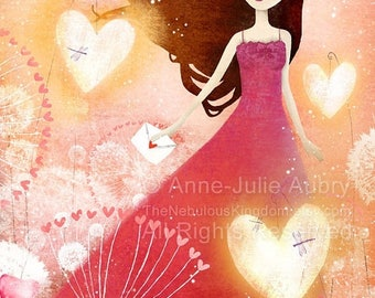 10% Off - Summer SALE Heart Lanterns 22/50 - Deluxe Edition Print