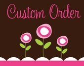 Custom Order - Applique Birthday Number 1 with Putting Green and Name Bodysuit - For Margit