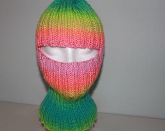Stripes ski mask