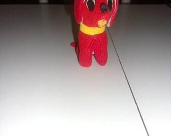 Vintage Corduroy Dog