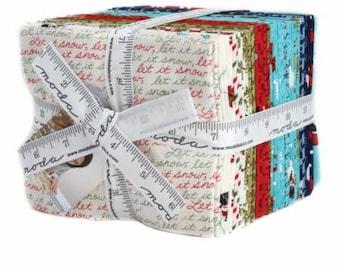 SUMMER SALE - Snow Much Fun - Fat Quarter Bundle (27) - by Deb Strain for Moda Fabric