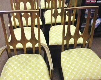 Nice Set of 8 Broyhill Brasilia MCM Dining Chairs