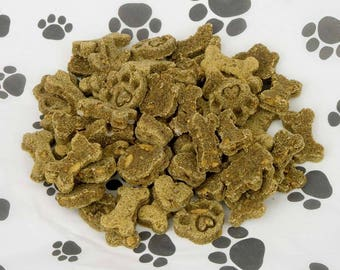 Peanutty Apple Pumpkin Dog Treats - Grain-free  - 6oz