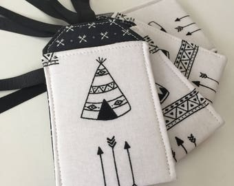 Luggage Tag, Teepees, Native American, Luggage Tags, Travel Gift, Travel Accessory, Bag Tag, Backpack Tag, Luggage Tag Holder, Adventure