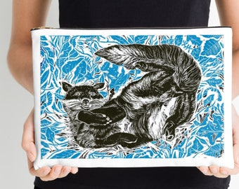 Blue Fox Large Studio Pouch