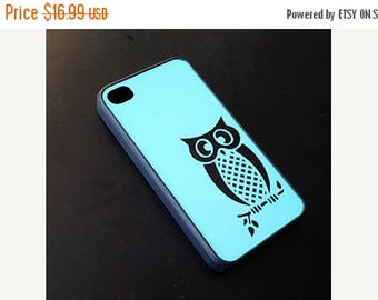 ON SALE Turquoise Green Owl iphone case iPhone 6 Case, iPhone 6 Plus, 6+ Case