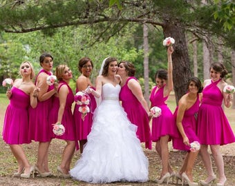 usa, LEIGH reserved listing, convertible dress, infinity dress, bridesmaids dresses