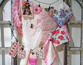 RESERVED4NANCY - inspiration kit No026 -  includes handmade set of embellished clothes clips