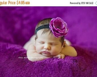 sale Purple Headband Baby Headband Toddler Headband Infant Headband Baby Girls Headband Photography Props Photo Props Stretch Elastic Baby B