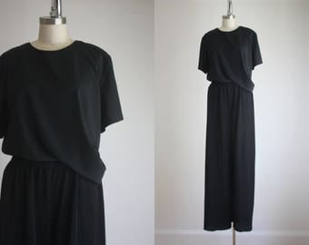 silky black t-shirt