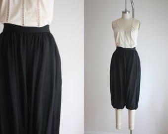 1970s sheer harem pants