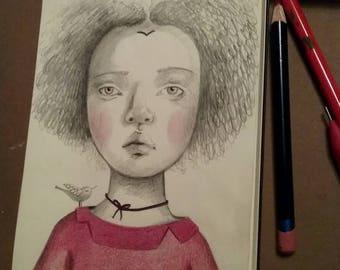 Little girl Ute