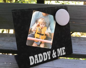 Father's Day, Dad Gift, New Dad Gift, Papa Gift, Poppy Gift, Magnet Board, Magnet Photo Frame, Personalized Grandparent Gift