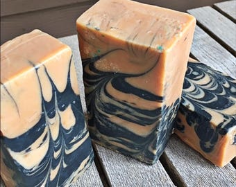 Beer Soap with Activated Charcoal - LYE Soap