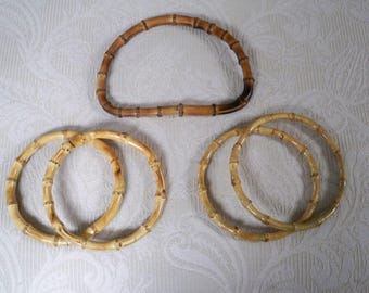 Craft Supply Bamboo Purse or Tote Handles
