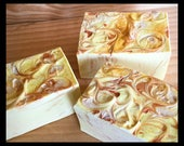 Hello Sweet Sugar Soap with Aloe Vera, Mango Butter, Silk, Artisan Handcrafted Soap, Gift for Her, Gift for Friend, For Woman, Teen Girl