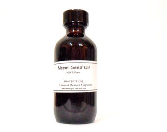 Neem Seed Oil    100% Oil / Uncut