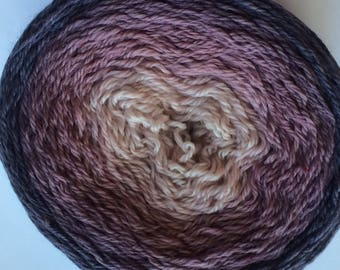 Gradient Shades of Persimmon customizable base