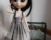 Sweet dress for Pullip or Blythe dolls