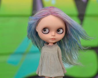 Pastel, a OOAK customized Blythe doll by Rachel K