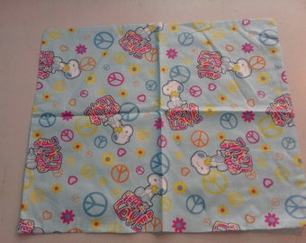 Snoopy with Peace Love fabric 249581