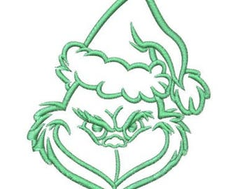 Embroidery Machine File  06028-03-05 Grinch
