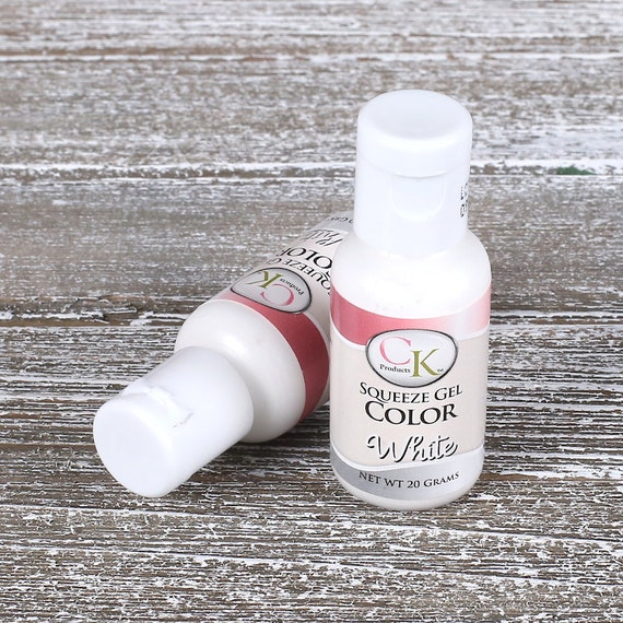 White Food Coloring, Cake Decorating, White Frosting Dye, CK Soft ...