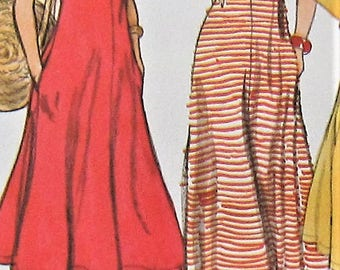 Vintage Dress Sewing Pattern UNCUT Vogue 1399 Size 8