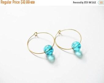 Small Hoop Earring, WATERCRUSH, Danty Boho Jewelry, Cute Gold Hoop Earrings, Small Cute Earrings, Petite Hoop Earring,