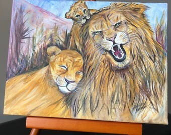 Lion Family Fun