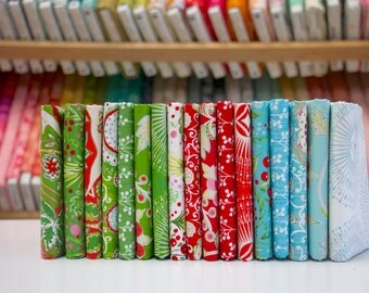 Winterland - Fat Eighth Bundle by Dena Designs -FreeSpirit Fabrics - 17 prints