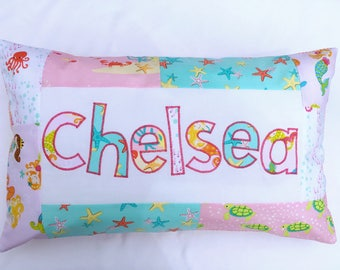 Mermaids Personalized Pillow