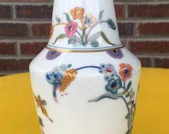 Haviland Limoges Golden Quail Vase, Haviland France