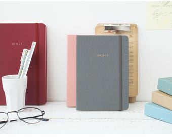 "2018 Dated ""Object Monthly + Daily Planner"" in 4 colors"