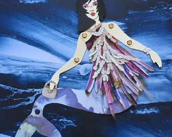 Mermaid Paper Doll 131 - Veronica Lodge