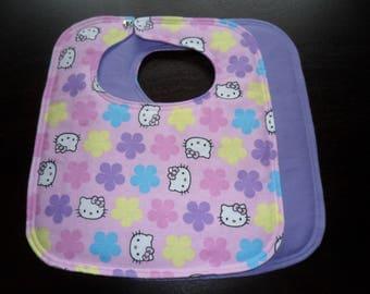 Hello Kitty - Medium Size Bib - FLANNEL