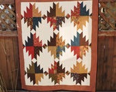 All Points Quilted Wall Hanging