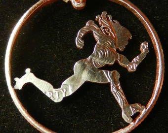 Reserved for Norette (Roller Derby Skater coin)